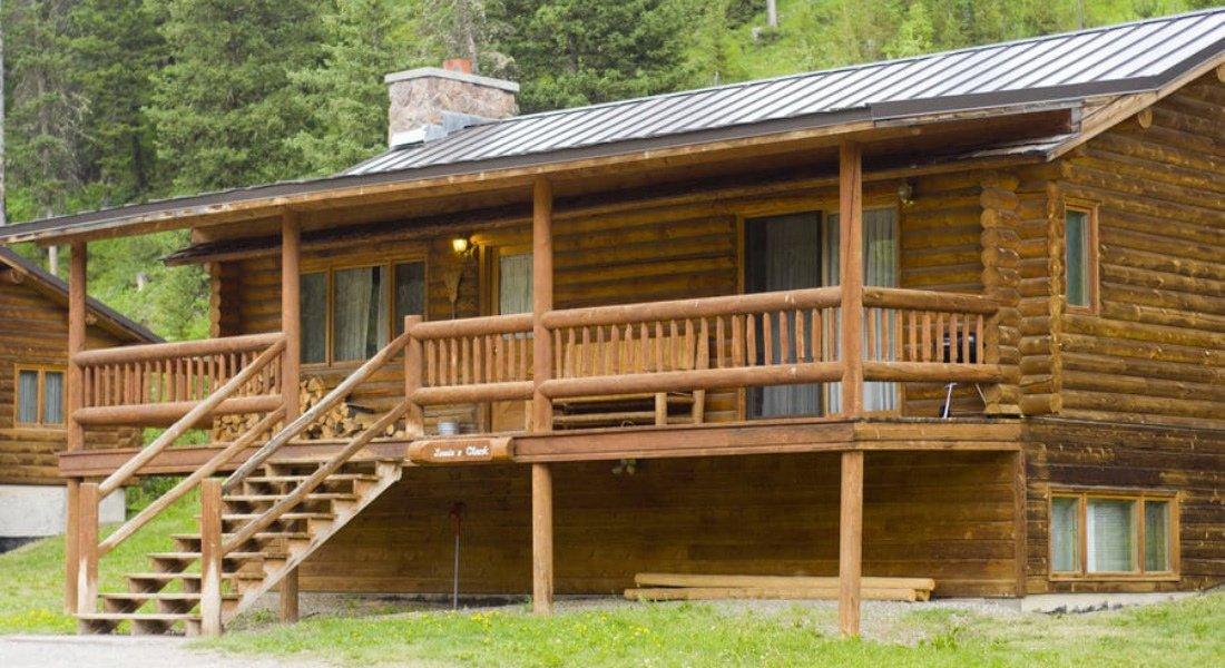 Ranch proche de Yellowstone dans l'Ouest américain
