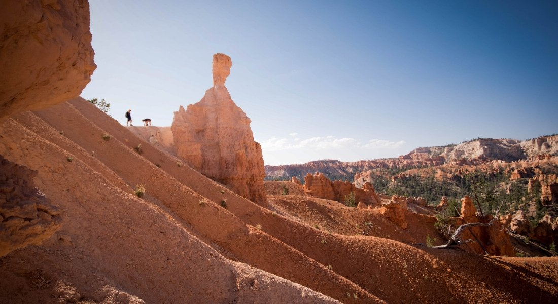 hiking bryce national park
