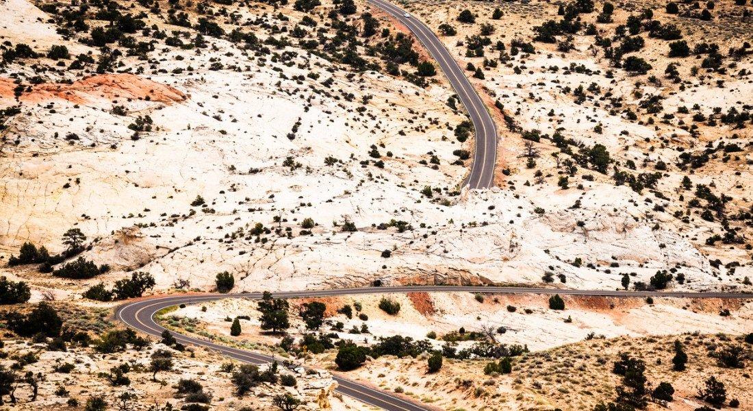 plus belles routes ouest americain en moto