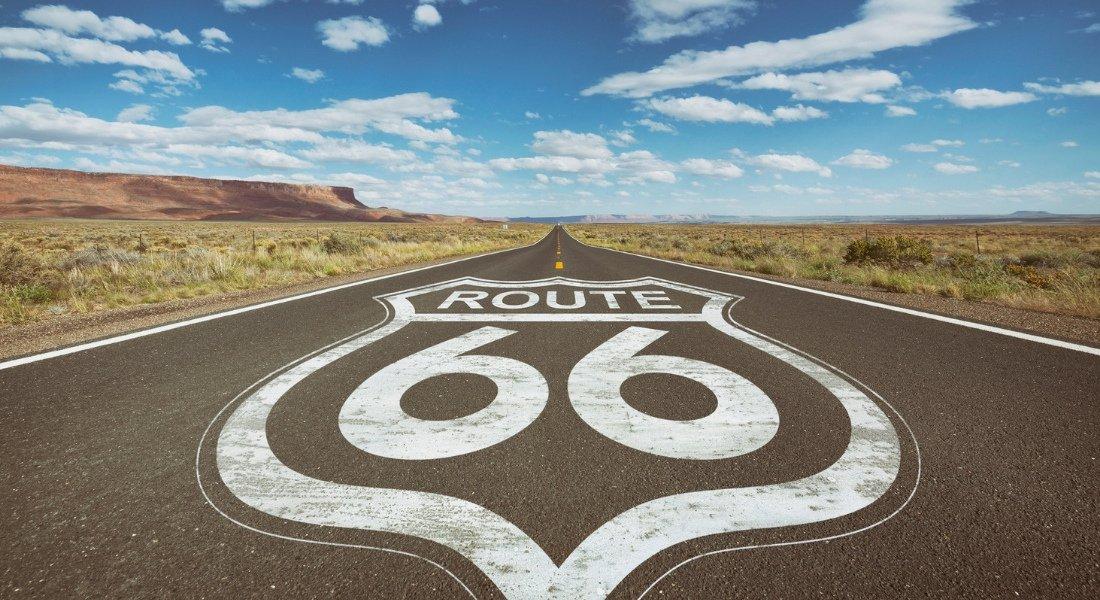 voyage en moto route 66 itinéraire