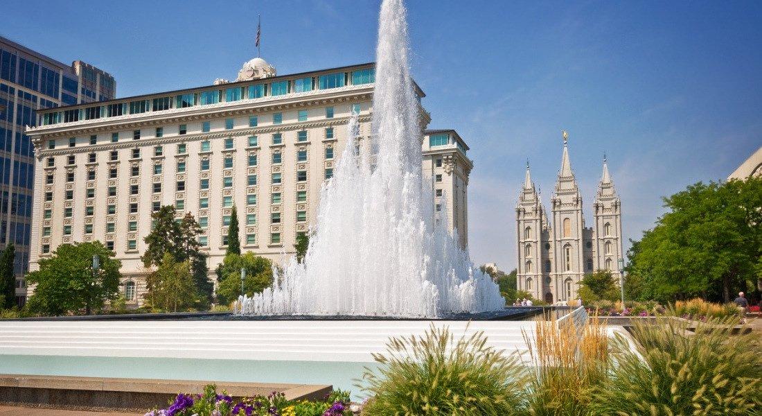 Temple Square de Salt Lake City