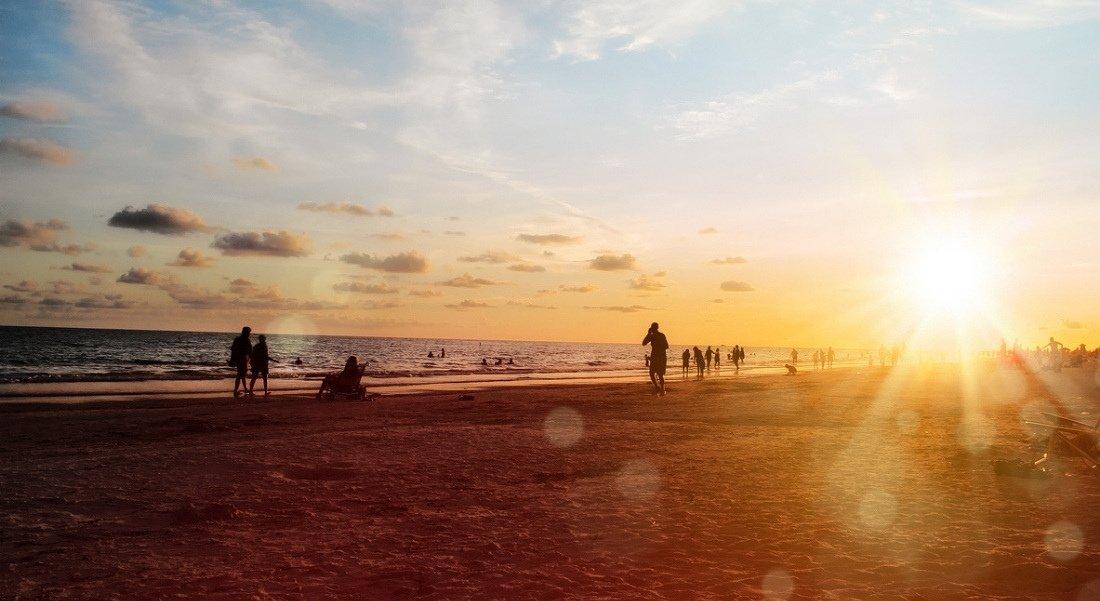 Plus beau coucher de soleil en Floride