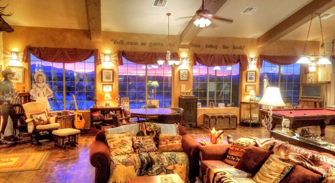 Stagecoach Trails Guest Ranch dans l'Ouest américain