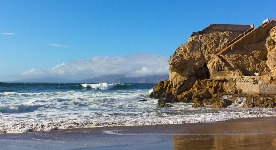 Vue sur l'océan à San Francisco