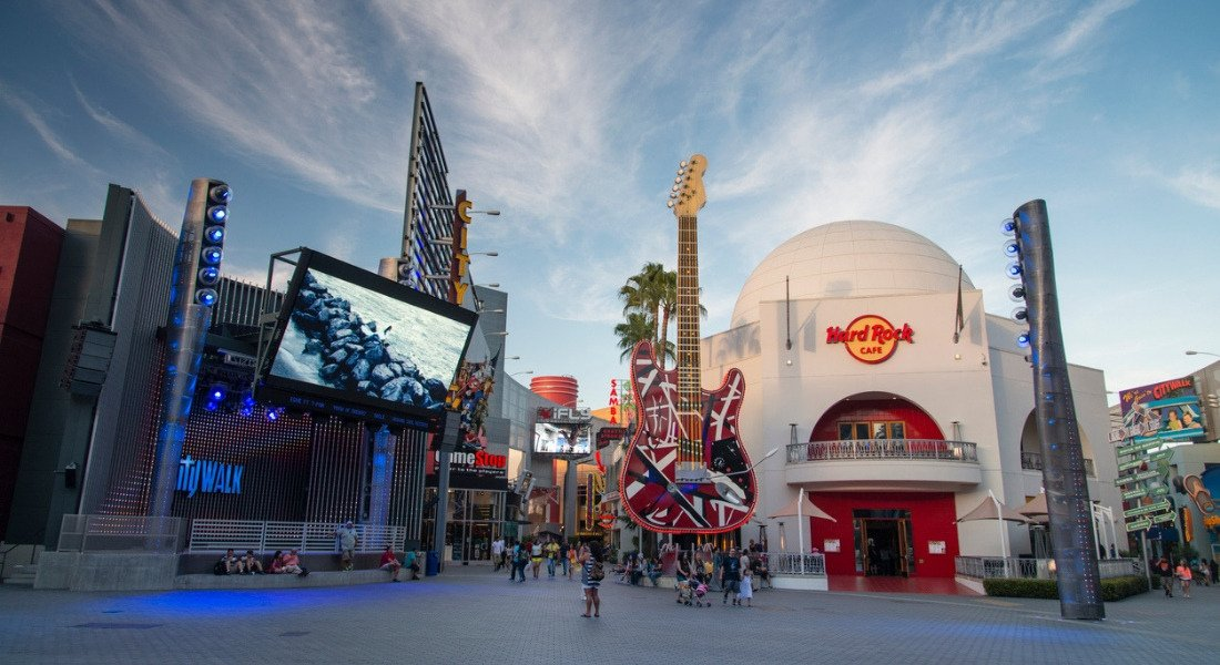 Hard Rock Cafe à City Walk Universal