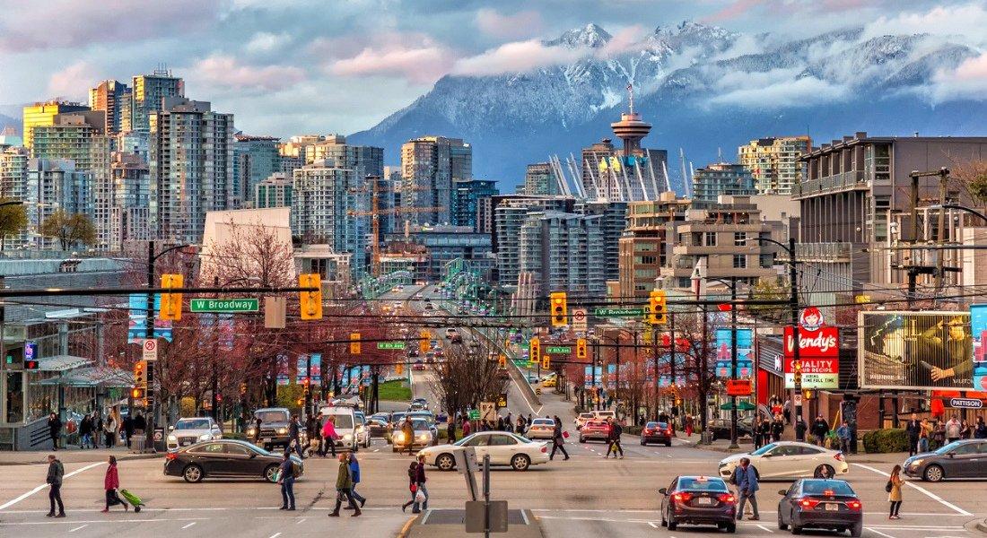 Vancouver en Colombie-Britannique
