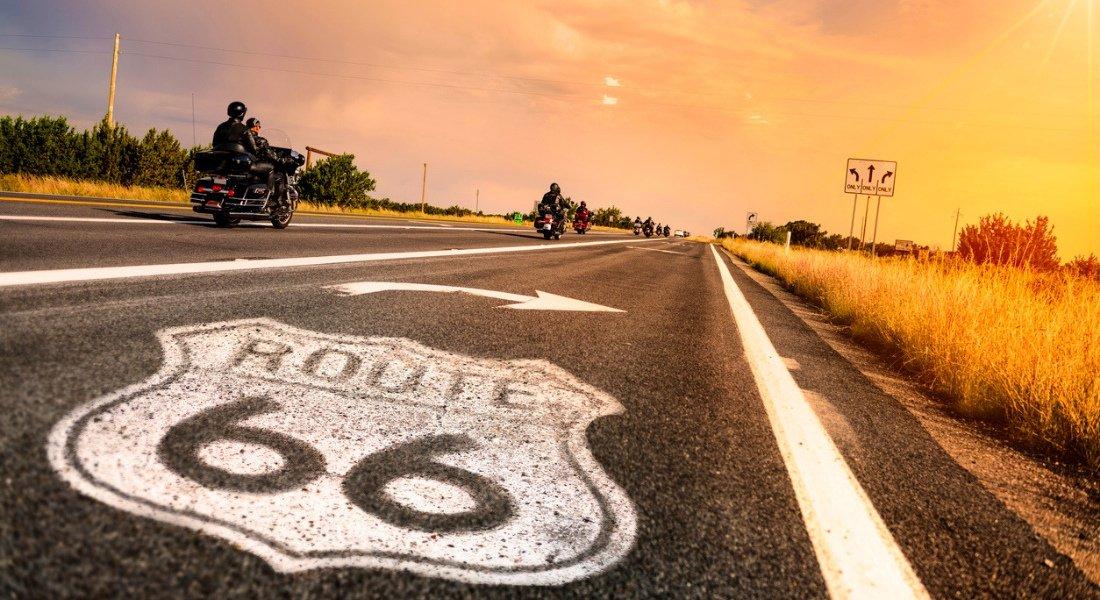 itinéraire moto route 66