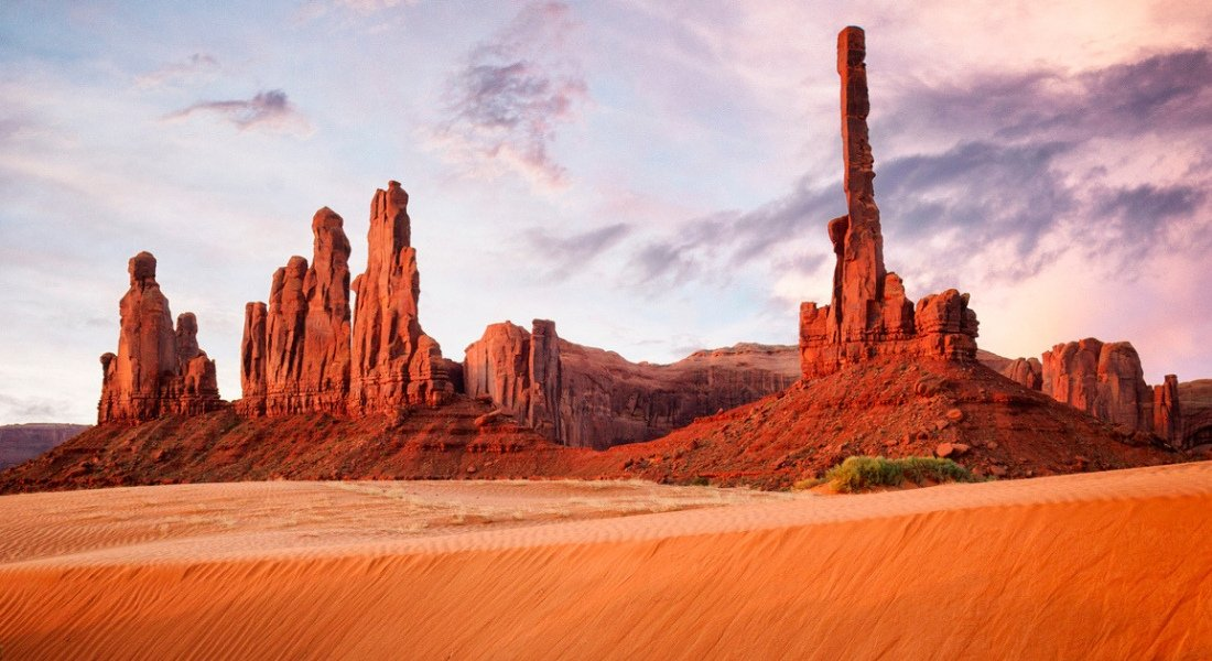 monument valley ouest americain