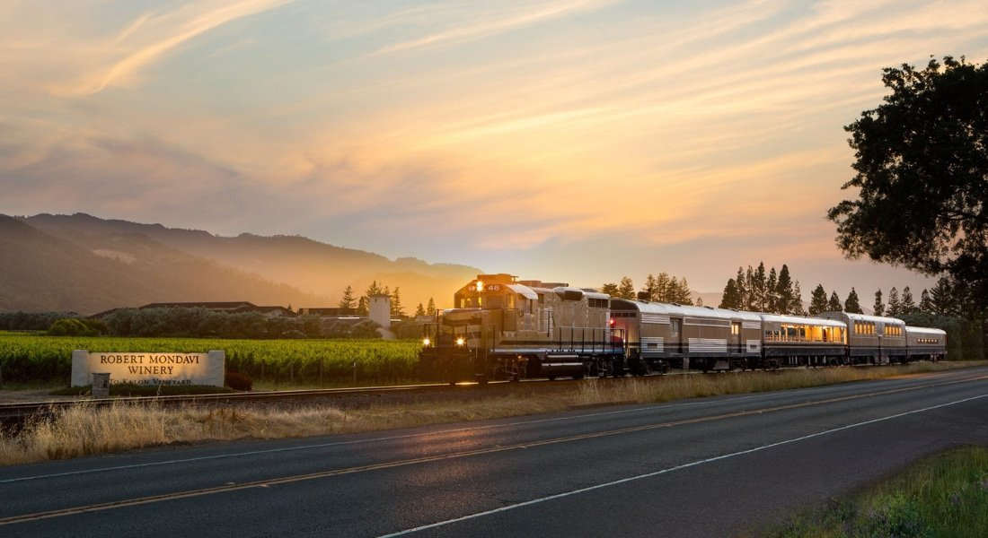 Exploration des vignobles de Napa Valley en train