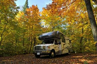 Quand voyager en camping-car aux États-Unis