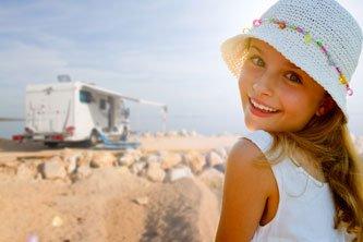 Voyager avec des enfants en camping-car
