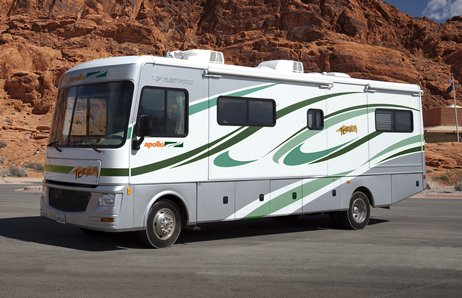 location du camping car elite classe a aux tats unis avec apollo. Black Bedroom Furniture Sets. Home Design Ideas