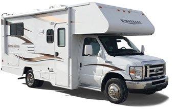 location du camping car e 23 classe c aux tats unis avec best time rv. Black Bedroom Furniture Sets. Home Design Ideas