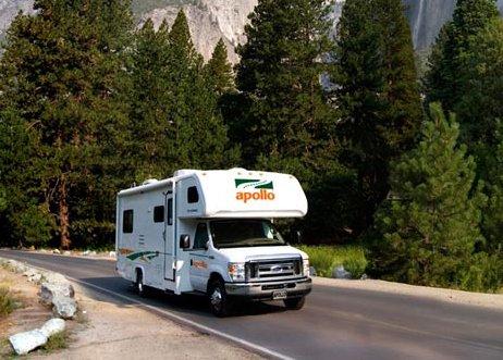 location de camping car c22 aux tats unis. Black Bedroom Furniture Sets. Home Design Ideas