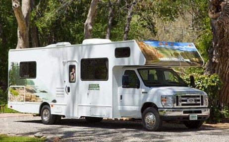 location du camping car c30 aux tats unis avec cruise america. Black Bedroom Furniture Sets. Home Design Ideas