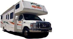 location du camping car wanderer classe c aux tats unis avec apollo. Black Bedroom Furniture Sets. Home Design Ideas