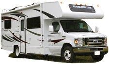 location d 39 un camping car c23 r aux tats unis avec road bear rv. Black Bedroom Furniture Sets. Home Design Ideas
