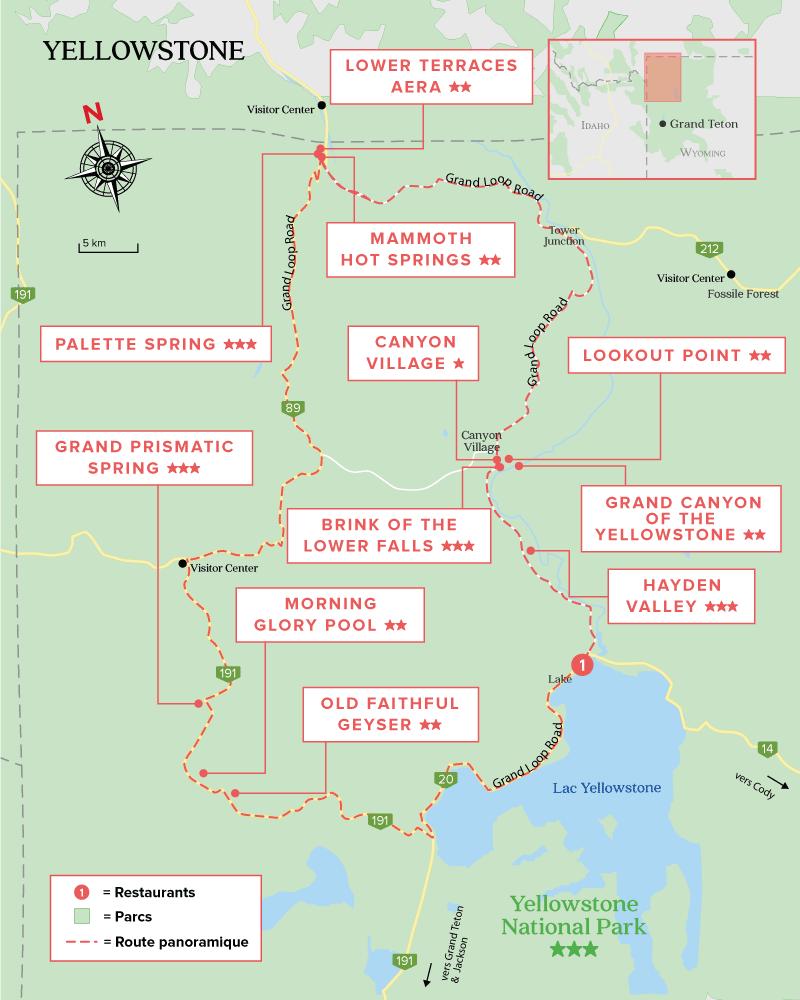 Yellowstone Carte