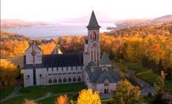 L'Abbaye St-Benoit-du-Lac, Magog, QC