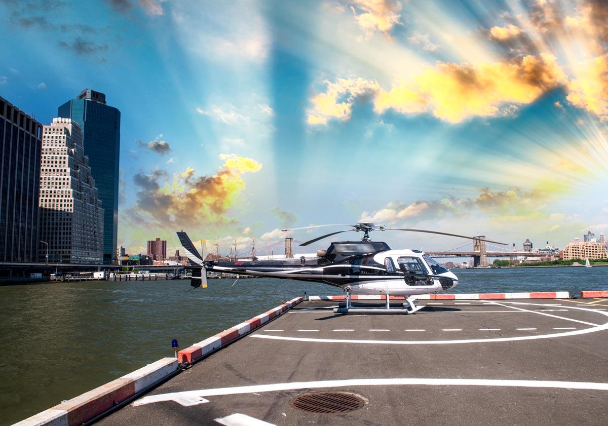 Tour de New-York en hélicoptère