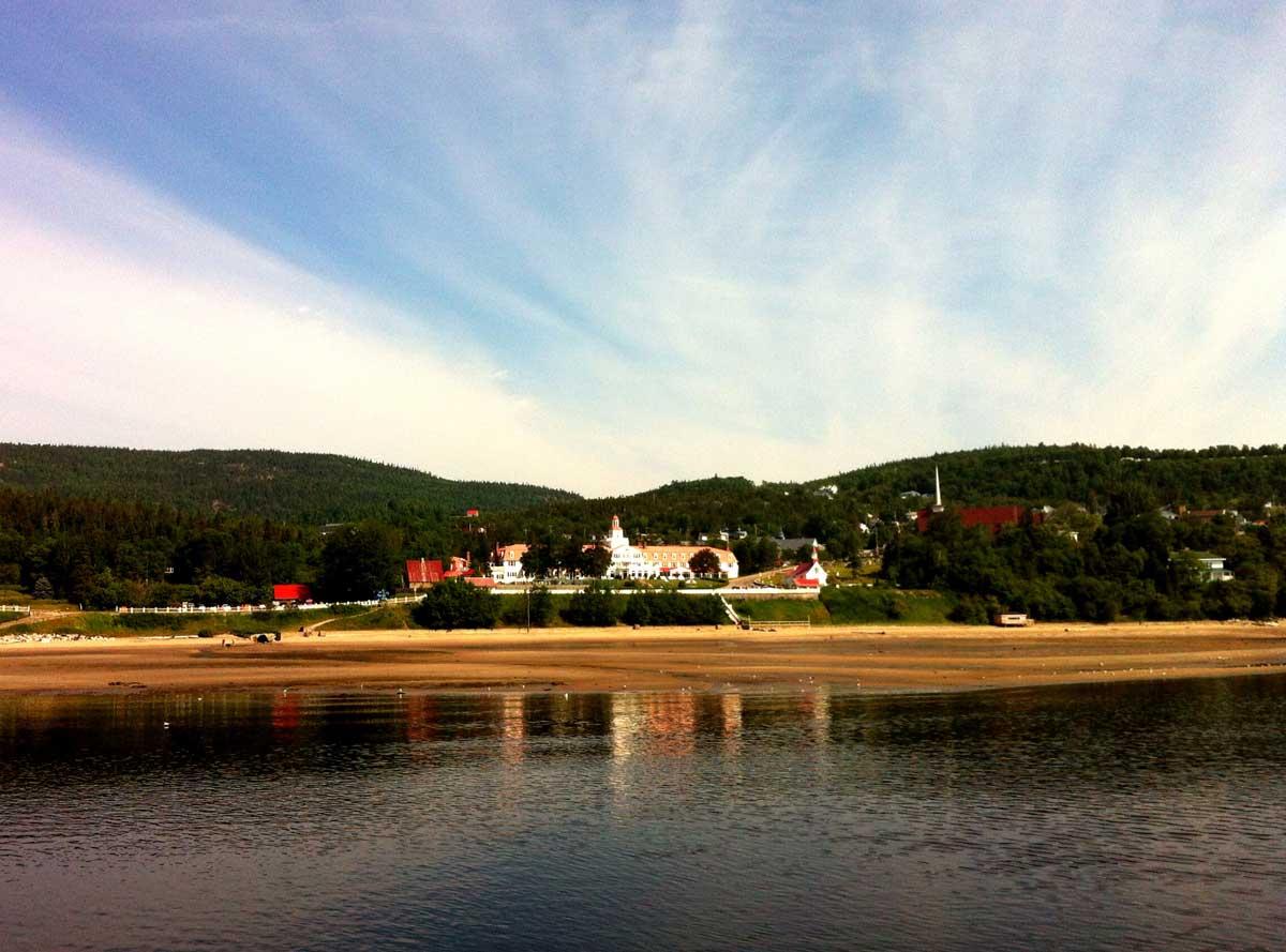 Le village de Tadoussac