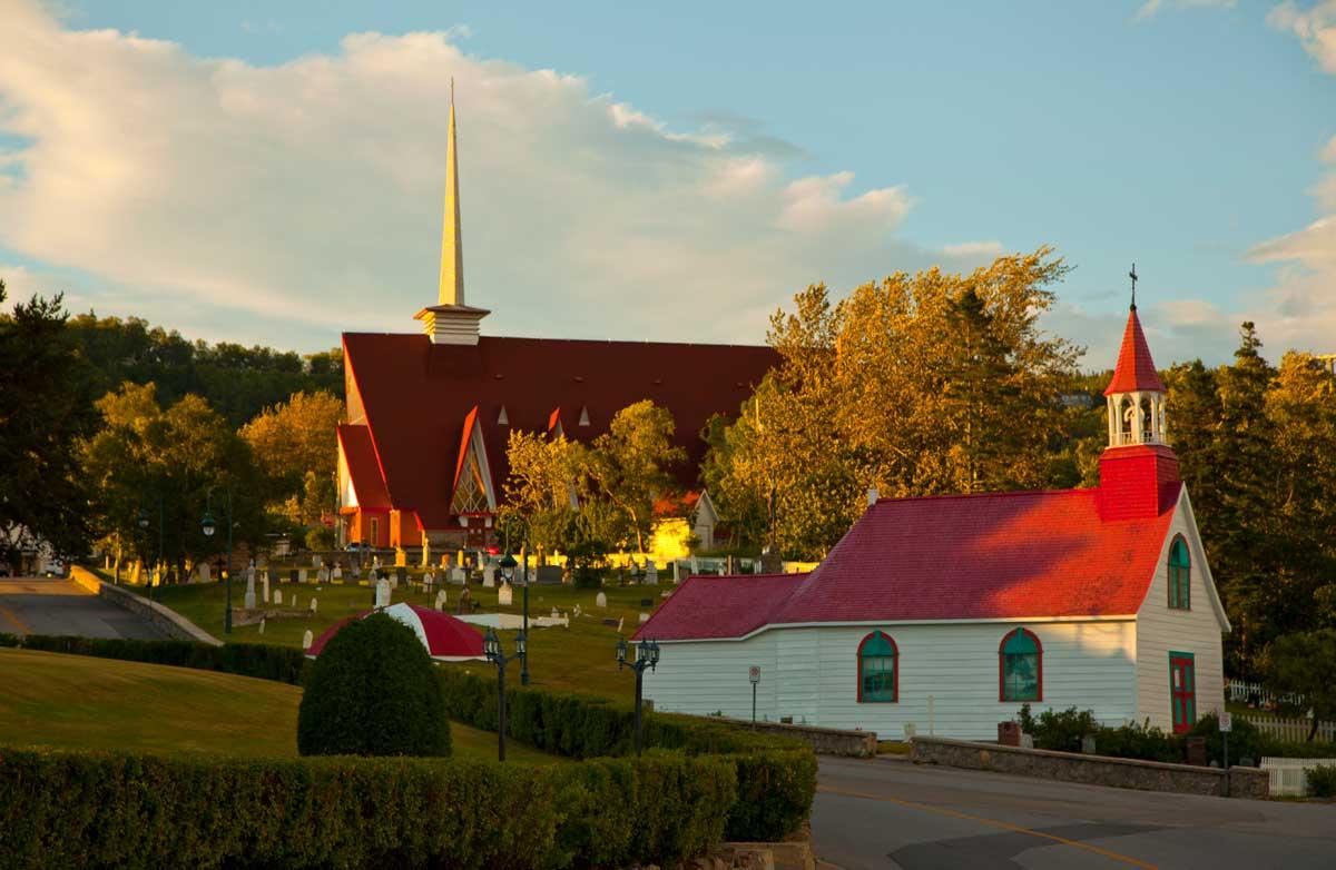 Petite chapelle du village de Tadoussac