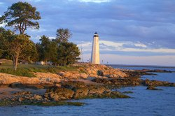 Le vieux phare de Lighthouse Point Park