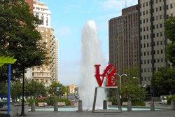 L'emblématique sculpture LOVE