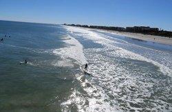 Surf à Cocoa Beach, Floride
