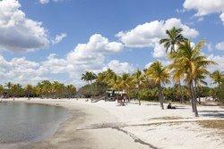 La plage du Matheson Hammock Park, Coral Gables