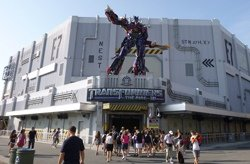 Transformers The Ride-3D, FL