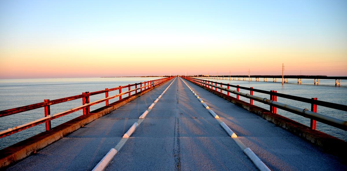 Pont Seven Miles, route panoramique des Keys