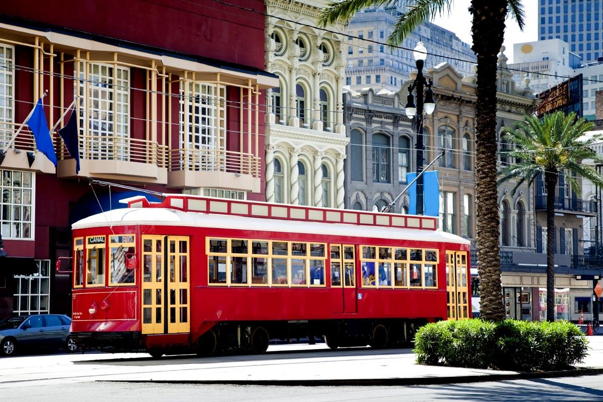 New Orleans Street Cars: Circuit Louisiane : Road Trip De 8, 15 Et 21 Jours En