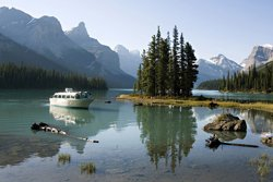 Croisière au Lac Maligne - Jasper