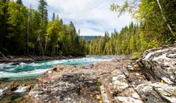 Bailey's Chute - Parc Wells Gray