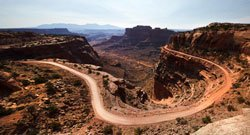 Shafer Canyon Overlook - Canyonlands