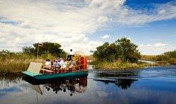 Bateau dans les Everglades