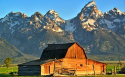 Grand Teton-Moulton Barn