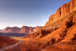 Capitol Reef - Chimmey Rock