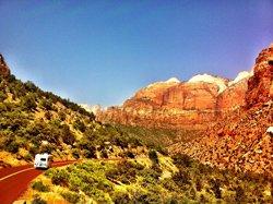 Route du Mont Carmel - Zion