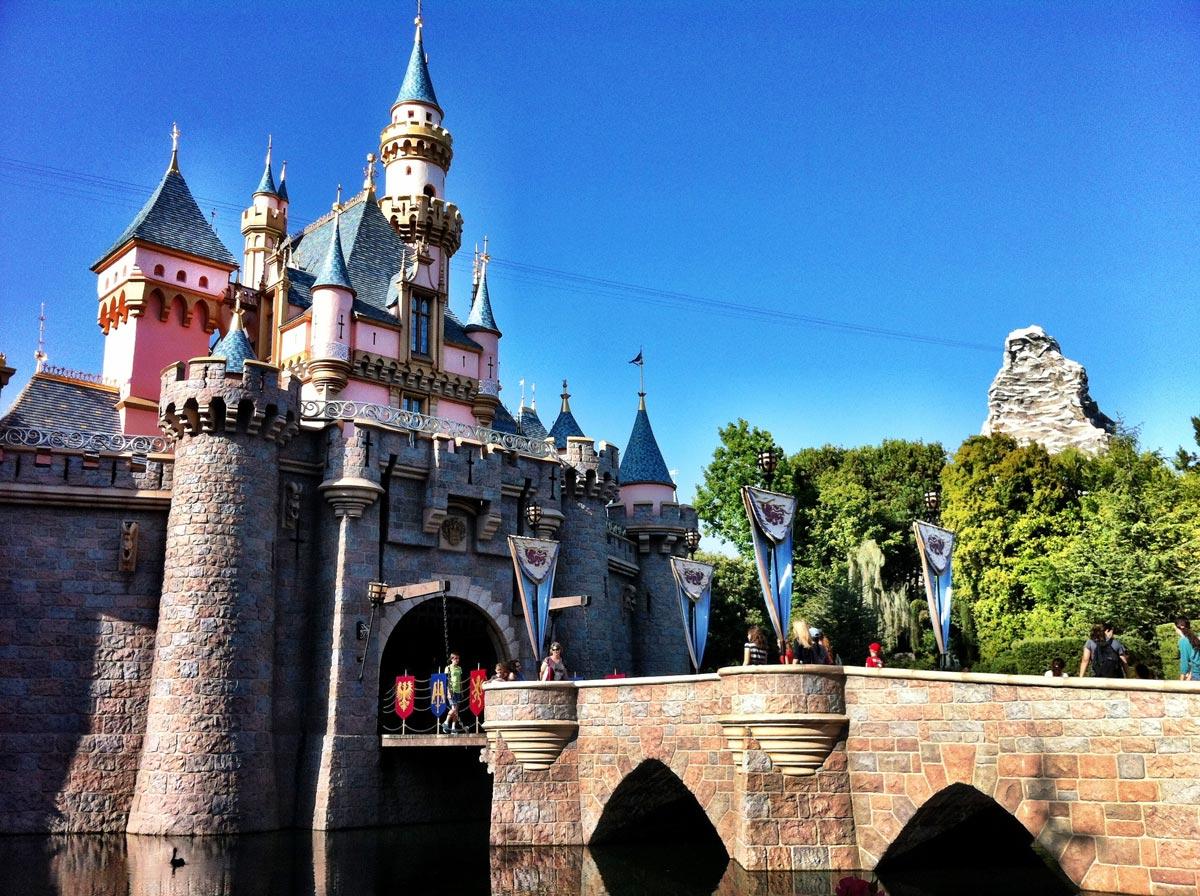 Les châteaux de princesse de Disneyland