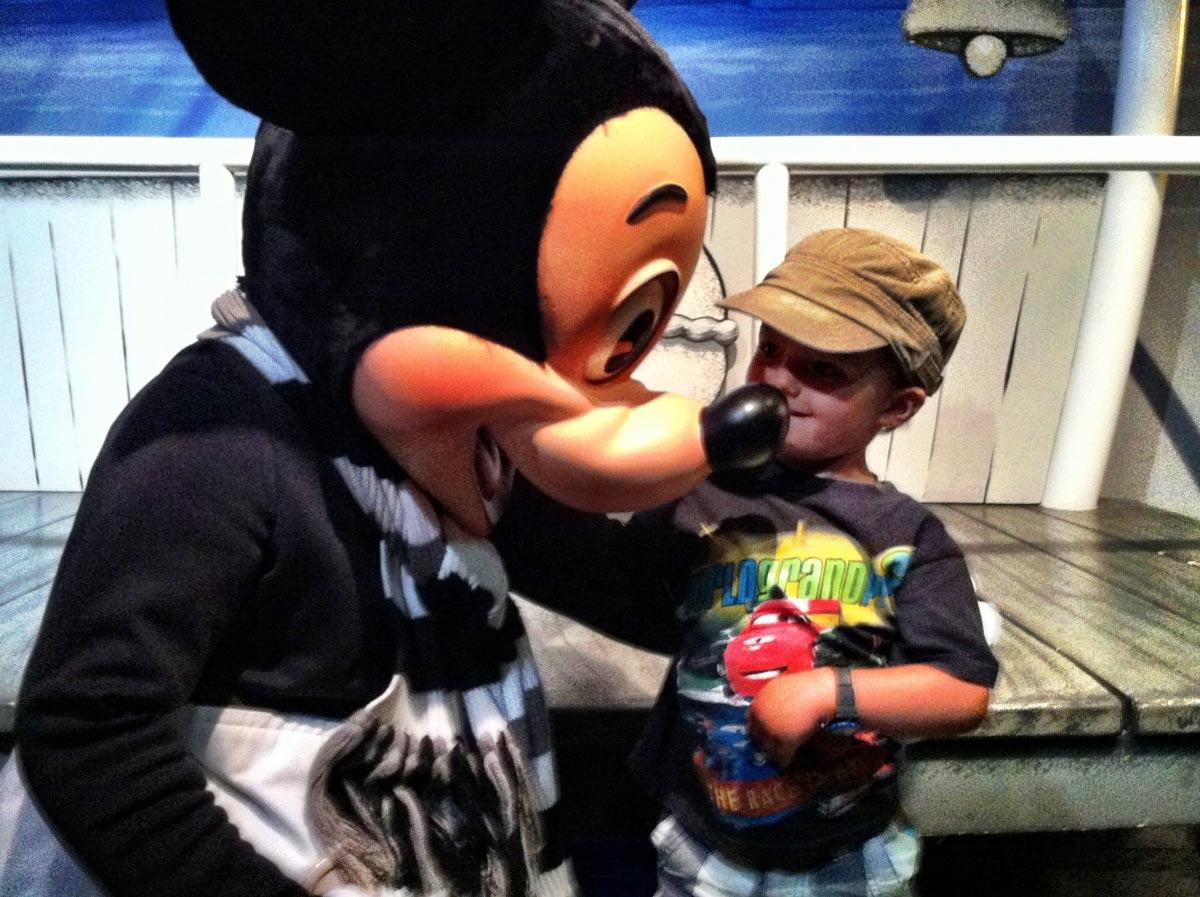 Rencontre avec Mickey Mouse