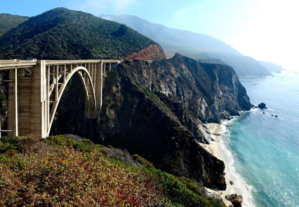 La Highway 1, Californie