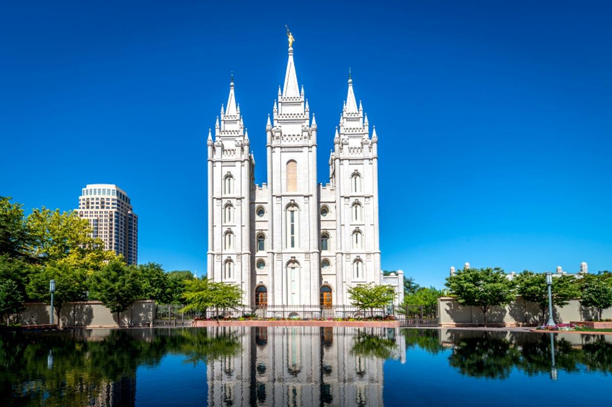 Le Temple Square de Salt Lake City