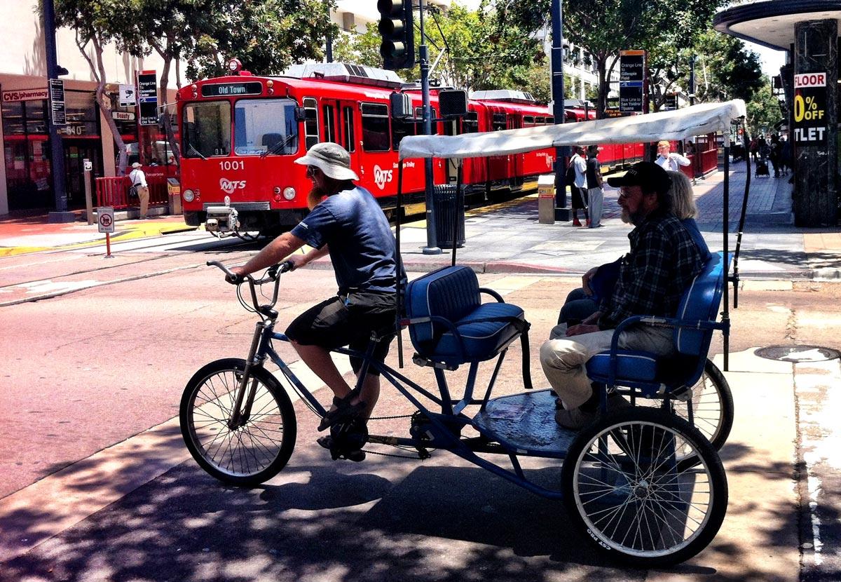 Les moyens de transport écologiques de San Diego