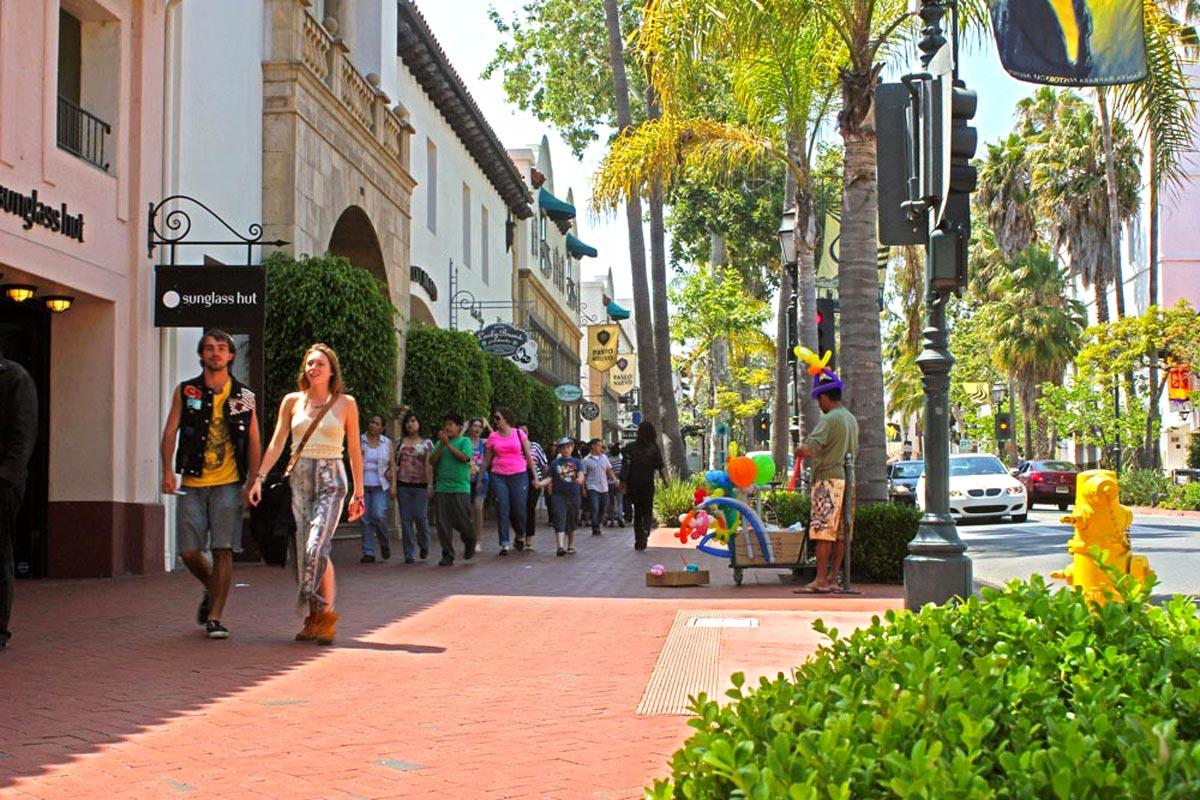 State street de Santa Barbara