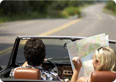 Brochure et carte routière des USA - États-Unis