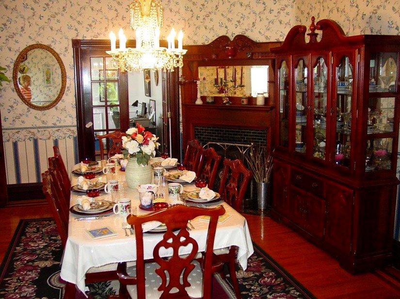 Gîte Blue Gables - Salle à manger