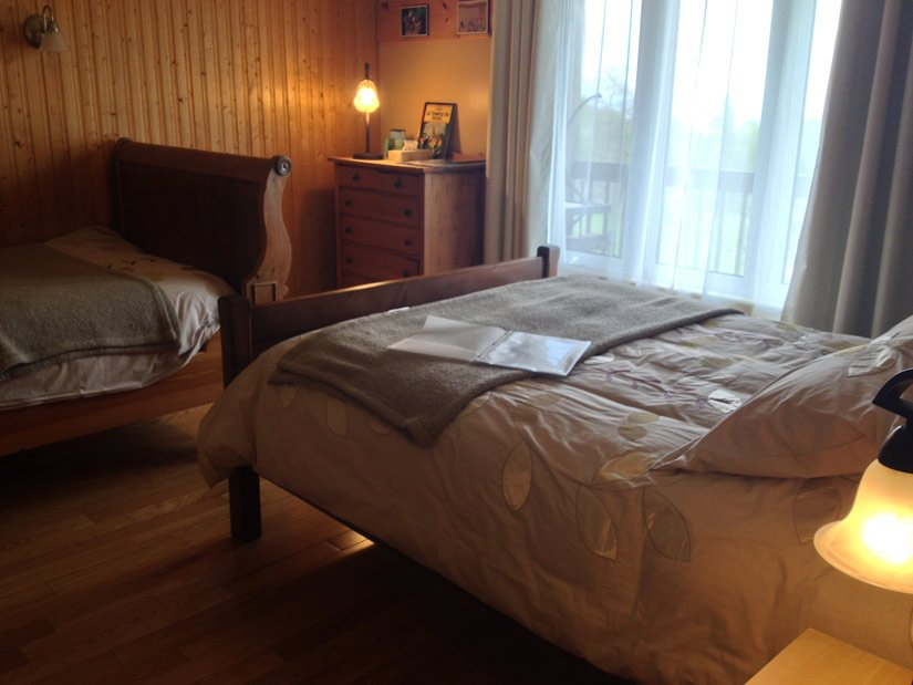 Gîte l'Écureuil - Chambre 2 lits