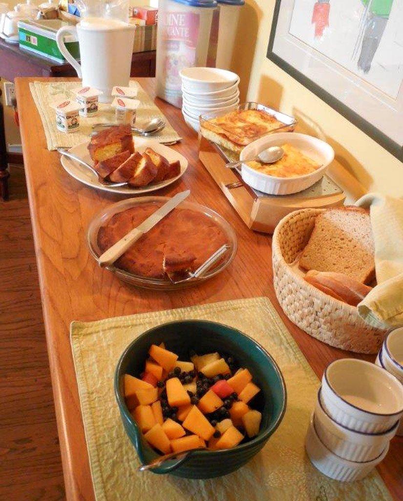 Gîte l'Écureuil - Petit-déjeuner